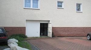 Eingangstür zum Lagerraum