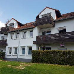 Eigentumswohnung nahe Volkswagen Werk in Baunatal - Gartenansicht des Hauses