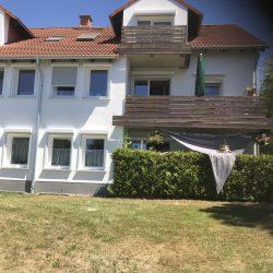 Eigentumswohnung in Baunatal - Gartenansicht mit Terrasse
